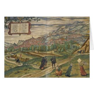 Vista de Granada Tarjeta