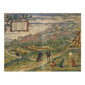 Vista de Granada Postal