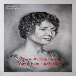Vista de Helen Keller SIN el poster de la cita de