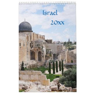 Vista de Israel, calendario 2018