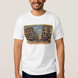 Vista de la avenida de Grant, Chinatown Camisas