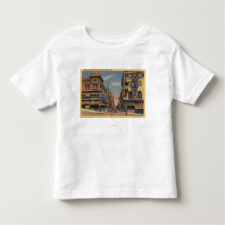 Vista de la avenida de Grant, Chinatown Camiseta