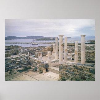 Vista de la casa de Cleopatra Póster
