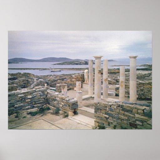 Vista de la casa de Cleopatra Posters