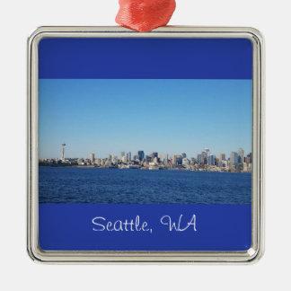 Vista de la ciudad del ornamento de Seattle
