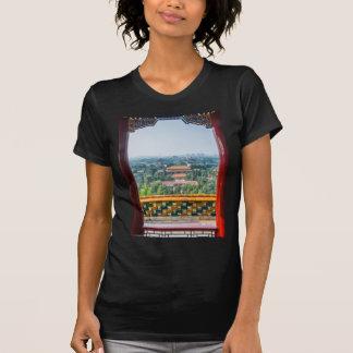Vista de la ciudad Prohibida del Shan de Jing Camisetas