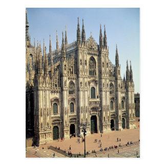 Vista de la fachada, comenzada 1386 postal