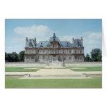 Vista de la fachada del este de Chateau de Maisons Tarjeton