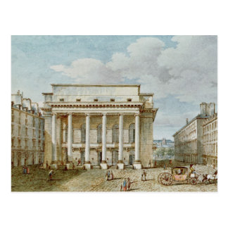 Vista de la fachada del teatro Italien Postal