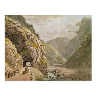 Vista de la frontera cercana d'Algaby de Galerie Postal