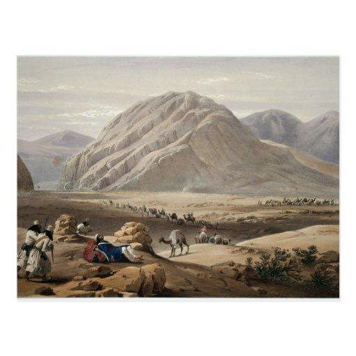 Vista de la montaña del Bizcocho borracho-Naunee,  Postales