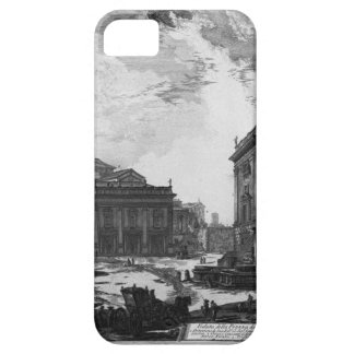 Vista de la plaza del Campidoglio de Juan iPhone 5 Case-Mate Cobertura