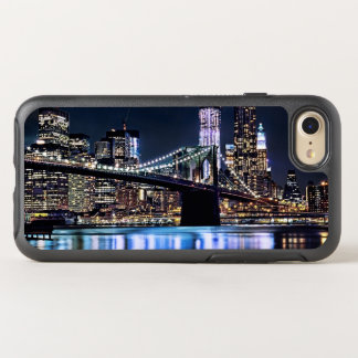 Vista de la reflexión del puente de Brooklyn de Funda OtterBox Symmetry Para iPhone 7