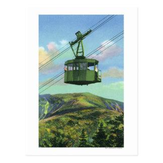 Vista de la tranvía del Mt del cañón que asciende Postal