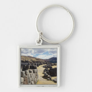 Vista de las paredes de piedra llaveros