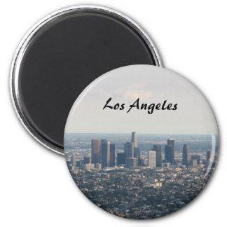 Vista de Los Ángeles céntrico Iman Para Frigorífico