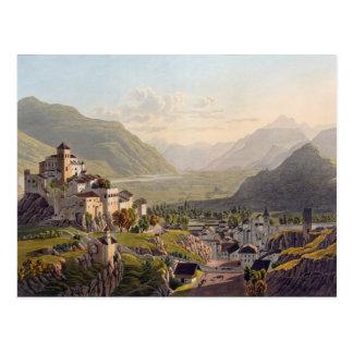 Vista de Sion, ejemplo del 'viaje Pittoresqu Postal