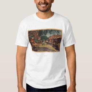 Vista de St. de Olvera (El Paso de Los Ángeles) Camisetas