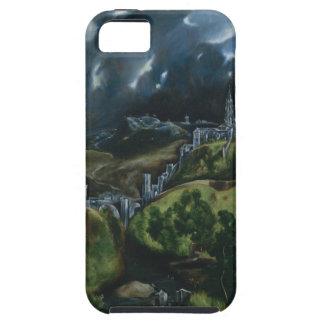 Vista de Toledo de El Greco iPhone 5 Case-Mate Carcasas