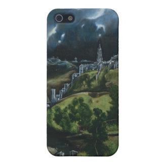 Vista de Toledo, El Greco iPhone 5 Carcasa