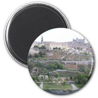 Vista de Toledo Imán Redondo 5 Cm