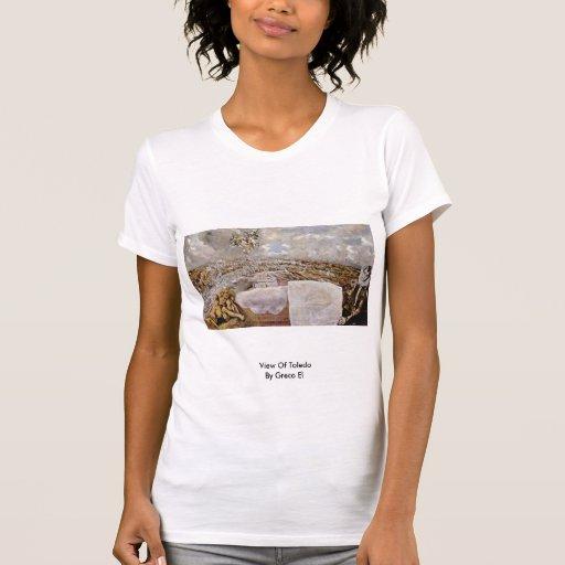 Vista de Toledo por el EL de Greco Camisetas