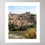 Vista de Toledo Poster