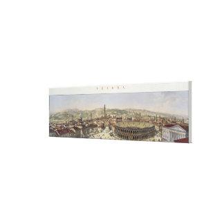 Vista de Verona, grabada por L. Cherbuin (en del c Impresión En Lienzo