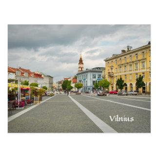 Vista del ayuntamiento, Vilna Lituania Postal