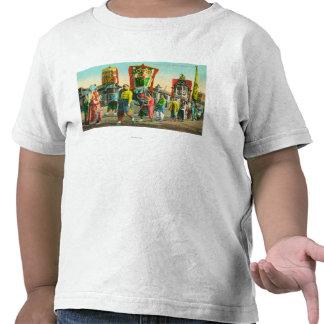 Vista del desfile de las pinzas, Chinatown Camisetas