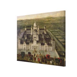 Vista del EL Escorial Impresión En Lienzo
