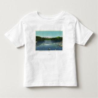 Vista del soporte Washington y el Saco Camiseta De Bebé