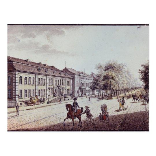Vista del teatro de la ópera, Berlín Postal