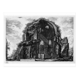 Vista del templo de Minerva Medica de Juan Postal