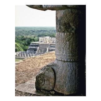 Vista detallada del top de EL Castillo Folleto 21,6 X 28 Cm