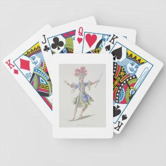 Vista el diseño para el mago, en Dardanus, un li Baraja Cartas De Poker