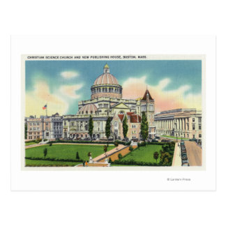 Vista exterior de la nueva casa editorial tarjetas postales