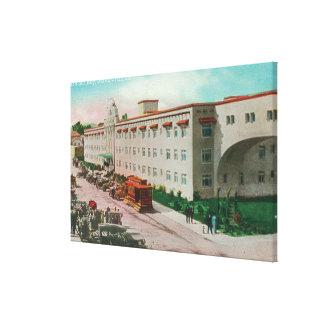Vista exterior de las casas del Rey # 2 Lienzo Envuelto Para Galerias