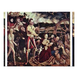 Vista general de la izquierda de A del St Catheri Invitación