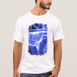 Vista luminescente del corazón humano camiseta