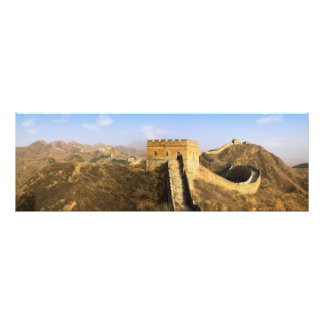 Vista panorámica de la Gran Muralla, China 2 Cojinete