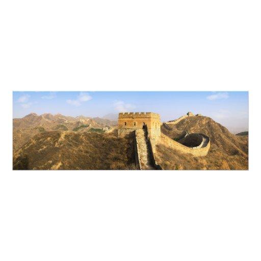 Vista panorámica de la Gran Muralla, China 2 Fotos