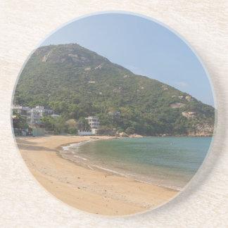 Vista panorámica de la isla pálida de Sok Kwu Posavasos
