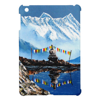 Vista panorámica de la montaña Nepal de Annapurna