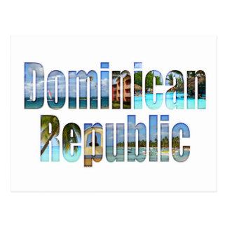 Vistas del turista de la República Dominicana en Postal