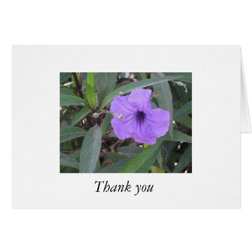 Visualice el agradecimiento tarjeta