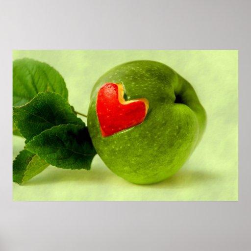 Vitaminas con corazón impresiones