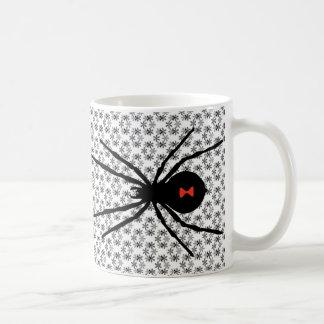 Viuda negra taza de café