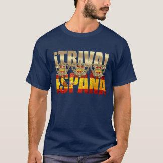 Viva España Tricampeones Triva España Azul 2012 Camiseta