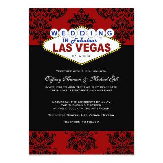 Viva Las Vegas que casa la invitación
